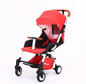 Детская коляска YOYA Care Оранжевая с белой рамой (20181116V-587)