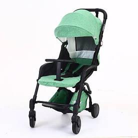 Детская коляска YOYA Care Зеленая с черной рамой (20181116V-582)