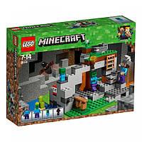 Конструктор пещера зомби LEGO Minecraft 21141