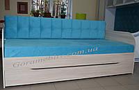 """Детская кровать с выдвижным спальным местом """"Л-10"""""""