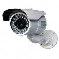 Видеокамера цветная наружная lux 90 sl, матрица sony super had ii ccd, фокусировка объектива, ик-подсветка