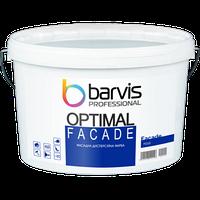 Акрилова фарба Barvis Professional Facade Optimal для зовнішніх і внутрішніх робіт Біла 10 літрів