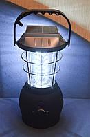 Кемпинговый динамо фонарь (лампа) на солнечной батарее
