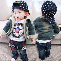 Джинсовая курточка для мальчика
