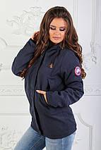 """Женская демисезонная куртка на синтепоне """"CONTINENT"""" с карманами и капюшоном, фото 3"""