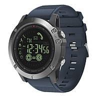 Спортивные умные часы  Zeblaze VIBE 3 синие до 32 месяцев Пыле и водонепроницаемость 5 атмосфер, фото 1