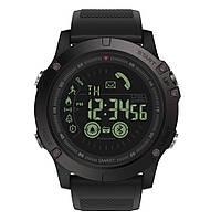 Спортивные умные часы  Zeblaze VIBE 3 черные до 32 месяцев Пыле и водонепроницаемость 5 атмосфер, фото 1
