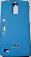 """Чехол для Huawei G520, """"SGP"""" Blue"""