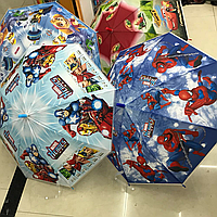 Зонт Детский трость мультики
