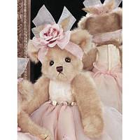 """Коллекционный плюшевый медвежонок """"Девочка балерина"""" 37см. Tippy Toeshoes Bear"""