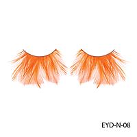 Ресницы декоративные накладные Lady Victory EYD-N-08 из натуральных перьев