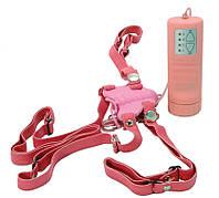 Клиторальный стимулятор Pure Vibes, розовый