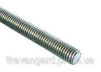Шпильки резьбовые оцинкованные М12*1000 мм, ГОСТ 22042 76, DIN 975