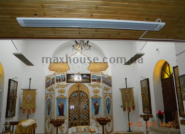 Использование инфракрасных систем отопления для религиозных помещений