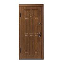 Двери входные ПО-60 Дуб темный