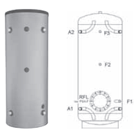 Буферная емкость для отопления Meibes PSH-F 1000
