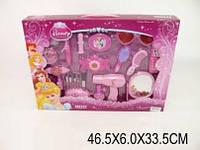 Аксессуары для девочек  телефон,очки,фен,зеркало,расч,кисточки,в коробке