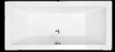 Ванна Besco QUADRO 155*70 (без панельок, ручок, ніжок)