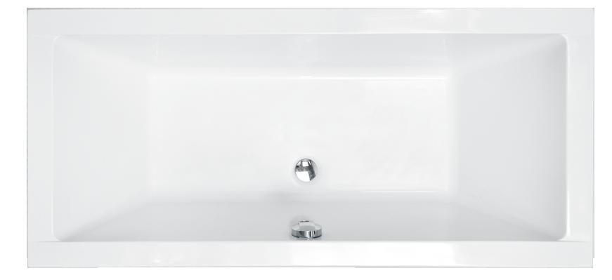 Ванна акрилова QUADRO 180*80 Besco PMD Piramida Польща, фото 2
