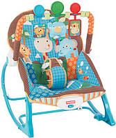 Кресло-качалка 3в1 с вибрацией, Фишер Прайс, Fisher-Price Infant to Toddler Rocker Оригинал из США
