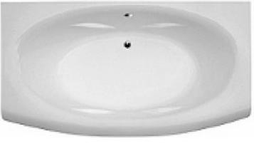Ванна TELIMENA 160*75 Besco (без панельок, ніжок, сифону)