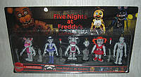 Аниматроники Пять ночей с Фредди Five nights at Freddys 6 фигурок набор 1