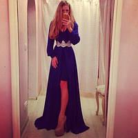 Вечернее платье в пол ,ткань масло, спереди короче ,цвет только такой, супер качество ЛЯ Флора