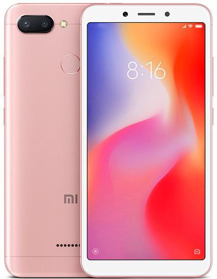 Смартфон Xiaomi Redmi 6 3GB/32GB (Rose Gold) Global Version