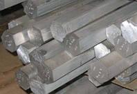 Шестигранник алюминиевый (дюралевый) ф22мм Д16Т, фото 1