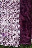 Покрывало Барашек 220х240. Фиолет