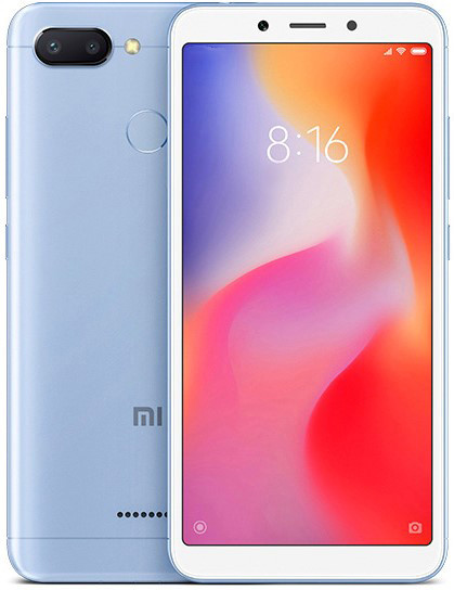 Смартфон Xiaomi Redmi 6 3GB/32GB (Blue)