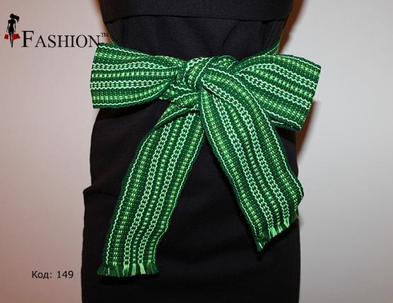 Ассортимент зелёных поясов для вышитых сорочек, фото 2