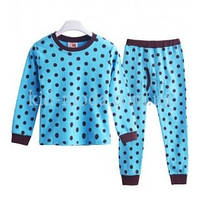 Пижама в горох (кофта, штаны)