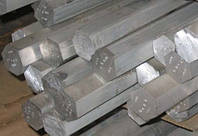 Шестигранник алюминиевый (дюралевый) ф32мм Д16Т, фото 1