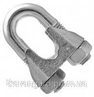 Зажим для стальных канатов (стальных тросов) 26 DIN 741
