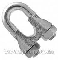 Зажим для стальных канатов (стальных тросов) 30 DIN 741