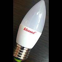 Led лампа 5W E27 4200k свеча Lezard