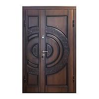 Двери входные ПВ-82 V Дуб темный Vinorit 1200*2050левая