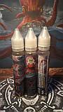 Жидкость для электронных сигарет Kraken с никотином 1мг/мл 30ml