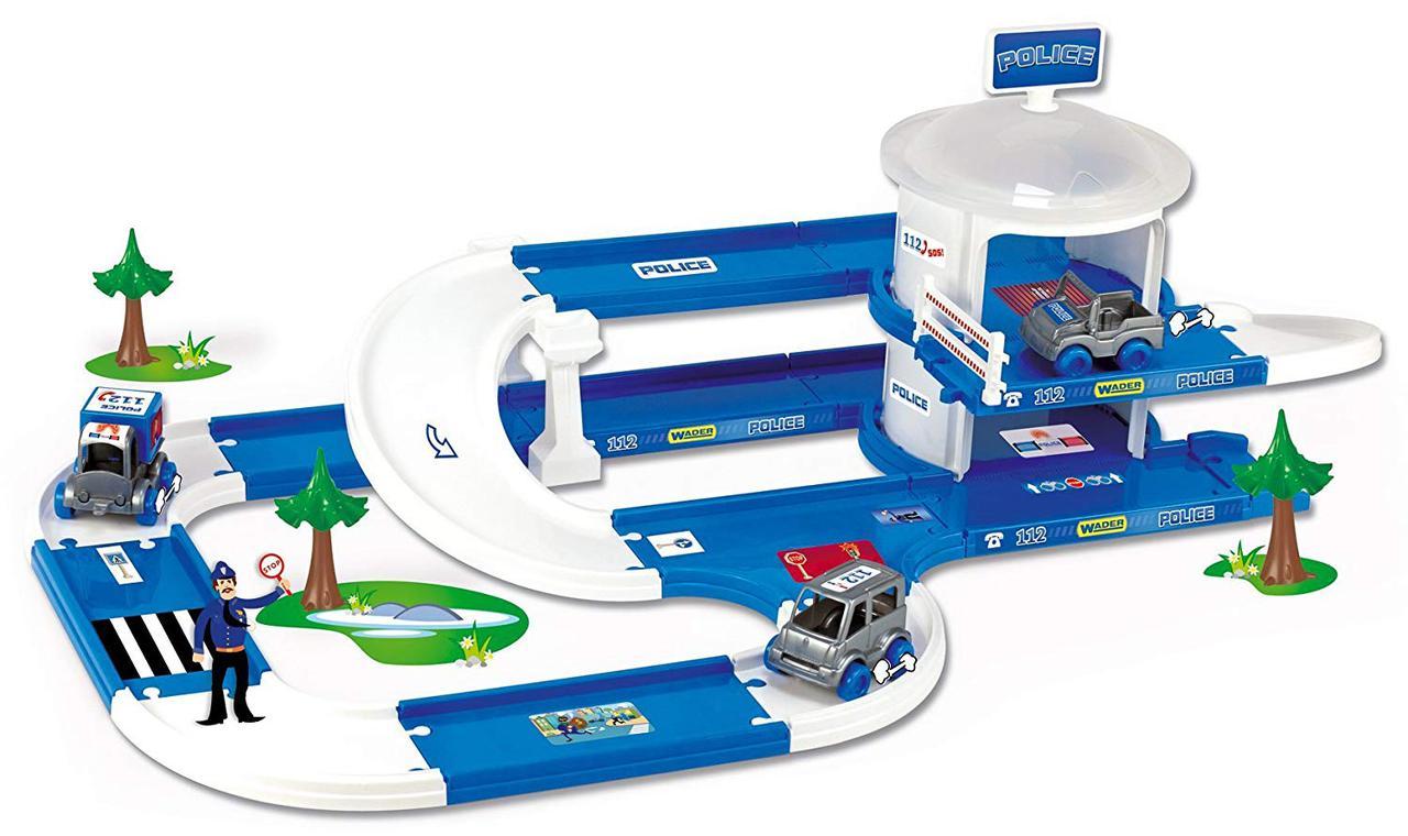 Игровой набор Kid Cars 3D Полиция, Wader (53320)