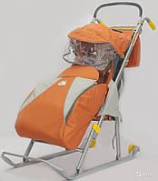 Очень удобные, качественные и прочные санки-коляска от компании–производителя nika «ника детям 2»