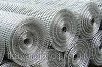 Сетка сварная штукатурная металлическая в рулонах 25*12*1.2*30000*1000 оцинкованная
