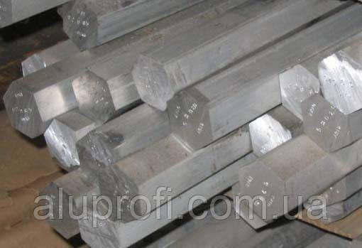 Шестигранник алюминиевый (дюралевый) ф46мм Д16Т