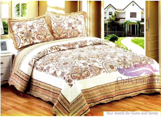 Комплекты покрывал с наволочками (подушками) на кровать