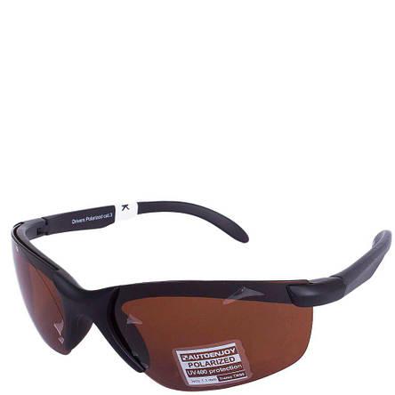 Очки для водителей мужские с поляризационными линзами AUTOENJOY AEJCF125K, фото 2