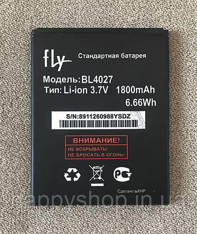 Оригінальна батарея Fly iQ4410 Phonex (BL4027) тех. пак, фото 2