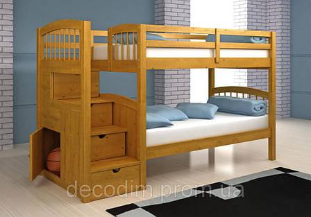 Двухъярусная кровать детская Диана 2, фото 2