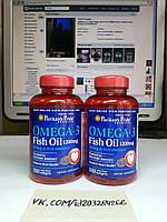 Puritan's Pride Omega-3 Fish Oil 1200 mg 100 softgels, фото 1
