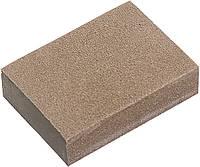 Губка для шліфування, 125 х 100 х 10 мм, м'яка, 3 шт., P 60/80, P 60/100, P 80/120// MTX