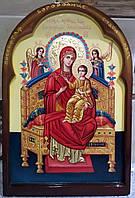Иконы писаные. Икона Всецарица (Пантанасса), фото 1